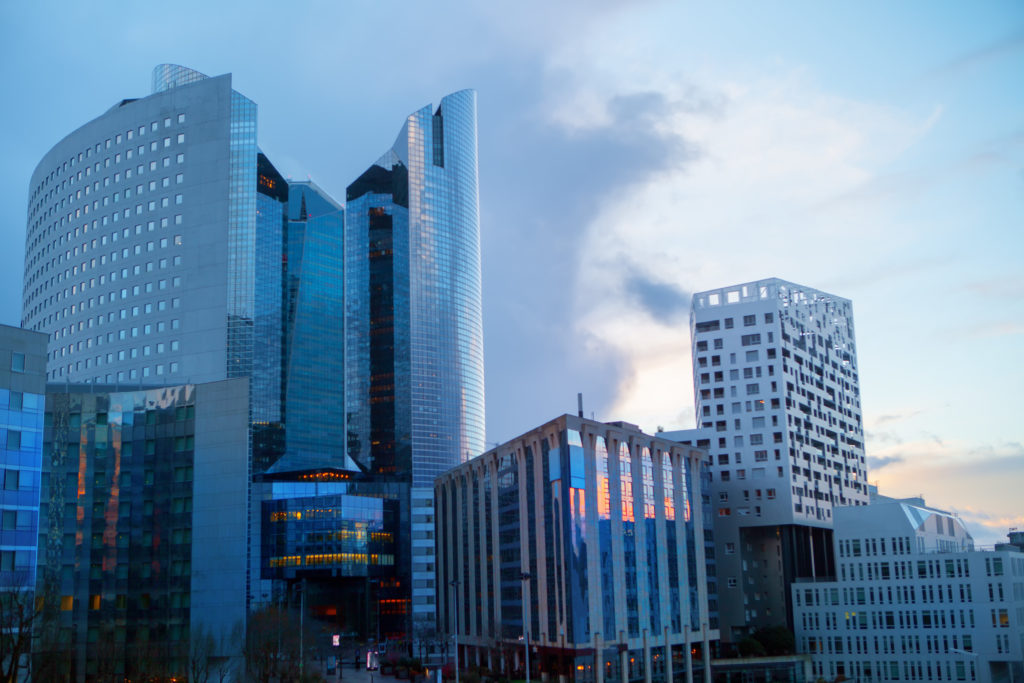 vue des immeubles de paris
