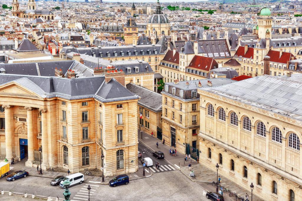 Panthéon Paris - vue panoramique - assurances maitre d'oeuvre -groupe cea